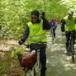 Cykeltur ad Motionsslangen 12 km nord om Nykøbing Falster