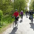 Cykeltur ad Motionsslangen rundt om Nykøbing F. 14 km